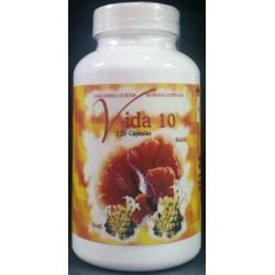 VIDA10 (REISHI-NONI) 120CAPS ALCAVIT+
