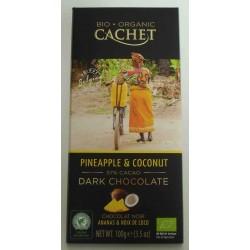 CHOCOLATE BIO PIÑA COCO 57% CACAO